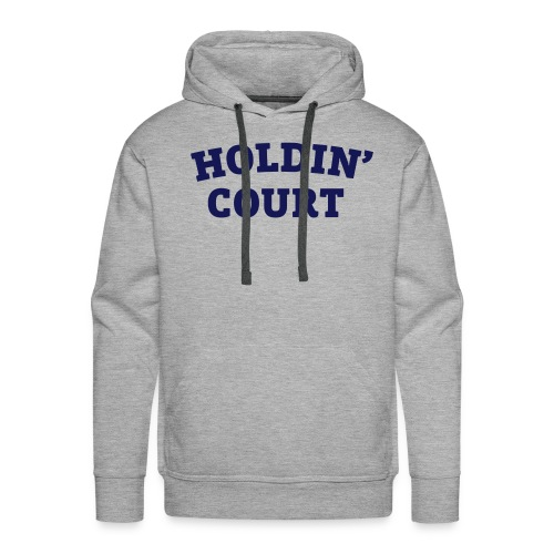 Holdin' Court Varsity Logo - Men's Premium Hoodie