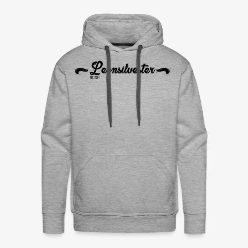 Leonsilvester Hoodie Black - Männer Premium Hoodie