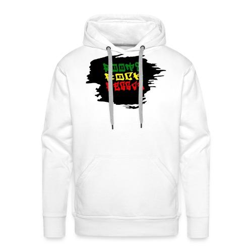 roots rock reggae - Sweat-shirt à capuche Premium pour hommes