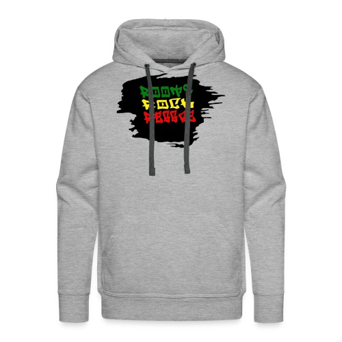 roots rock reggae - Sweat-shirt à capuche Premium pour hommes