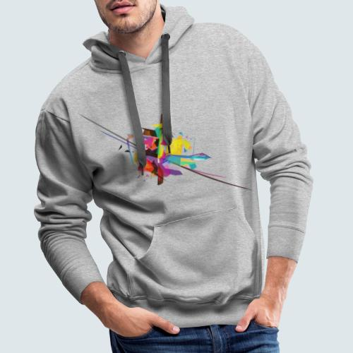 Farbenquadrat - Männer Premium Hoodie