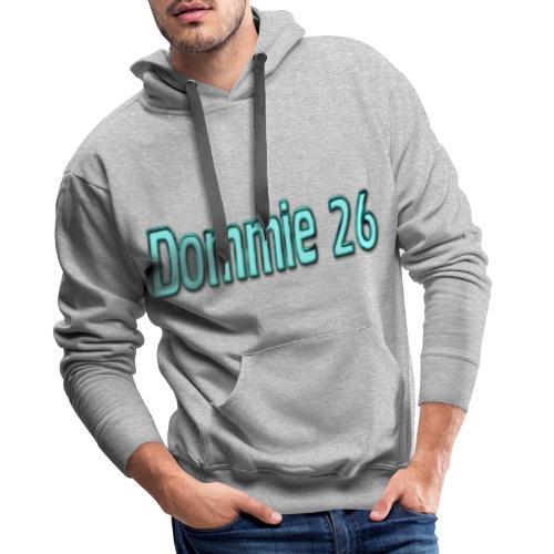 dommie 26 Text - Men's Premium Hoodie