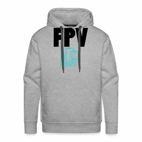 FPV - Sweat-shirt à capuche Premium pour hommes