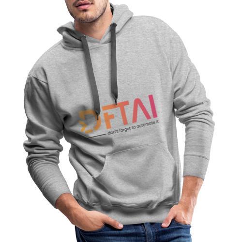 DFTAI Logo - Männer Premium Hoodie