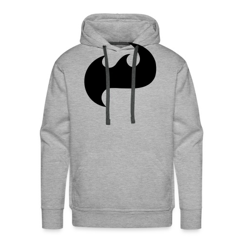 Highfish Logo - Männer Premium Hoodie