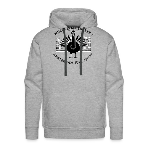 where My Turkey - Men's Premium Hoodie