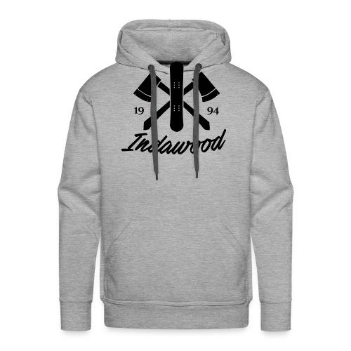 Indawood halux hans - Mannen Premium hoodie