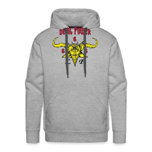 devil_power_2 - Sweat-shirt à capuche Premium pour hommes