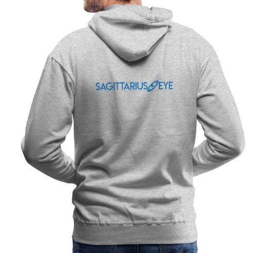 Sagittarius Eye Dual Branded - Men's Premium Hoodie