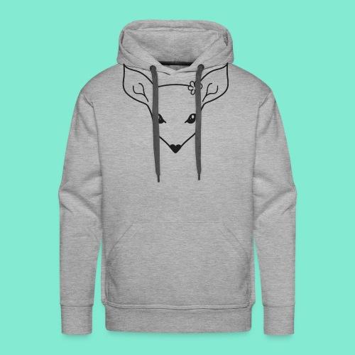 little fawn t-shirt - Felpa con cappuccio premium da uomo
