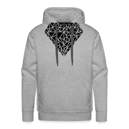 Triangle Love - Männer Premium Hoodie