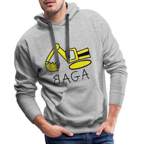 Bagger (BAGA) - Männer Premium Hoodie