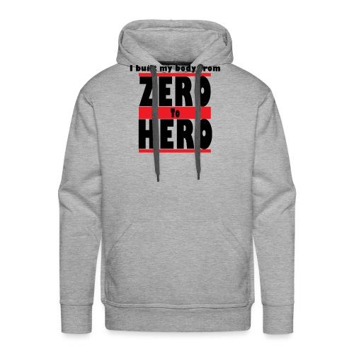 Zero To Hero - Miesten premium-huppari