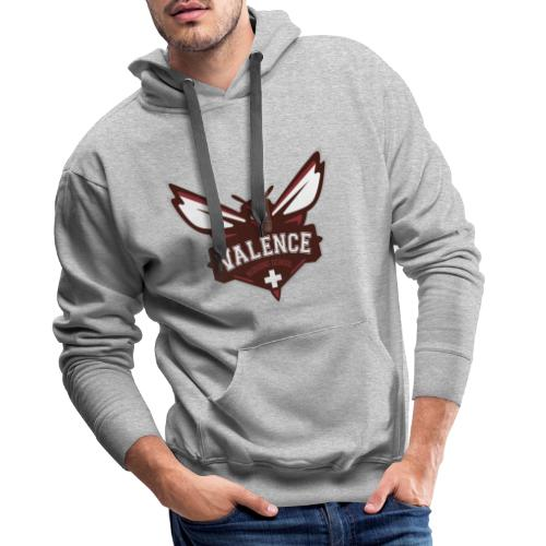 VALENCE ADHESIF 17-50 - Sweat-shirt à capuche Premium pour hommes
