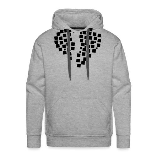 heartpixel - Männer Premium Hoodie