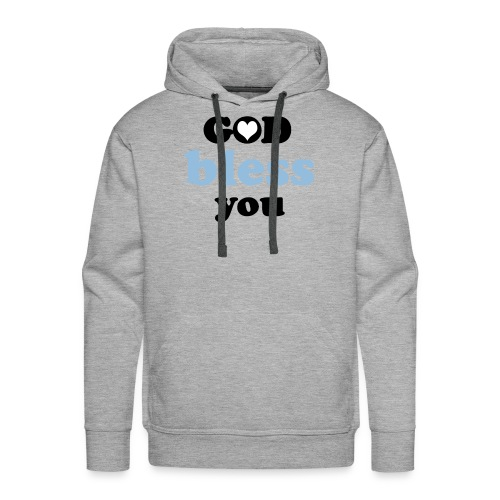 God bless you - Mannen Premium hoodie