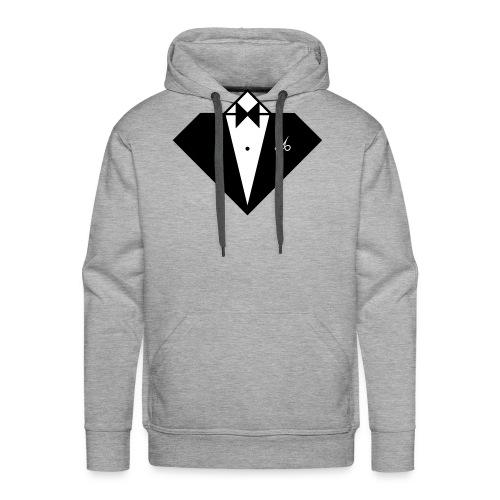 16992229-Buste Smoking CostarDiamant - Sweat-shirt à capuche Premium pour hommes