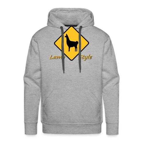 Lama Style - Sweat-shirt à capuche Premium pour hommes