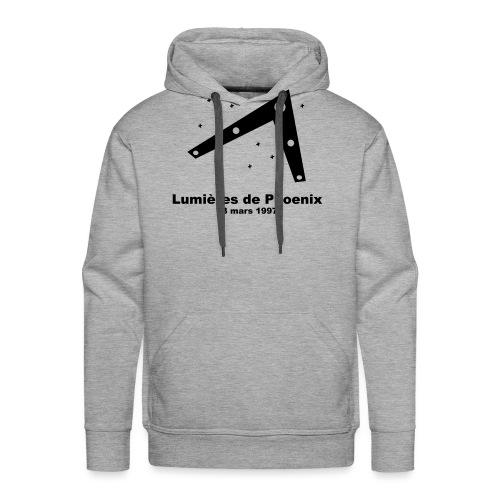 OVNI Lumieres de Phoenix - Sweat-shirt à capuche Premium pour hommes