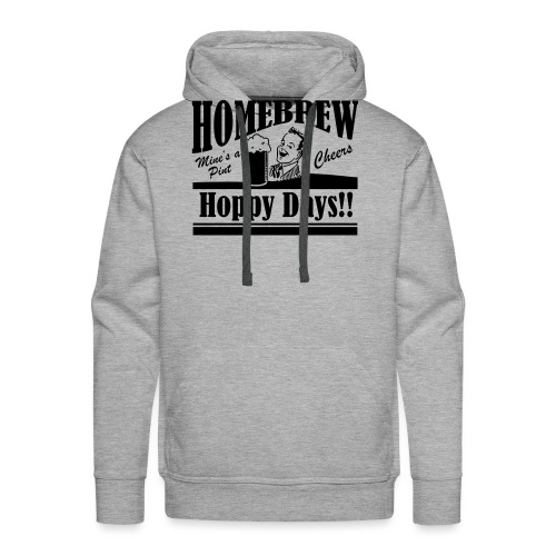 Hoppy Days - Men's Premium Hoodie