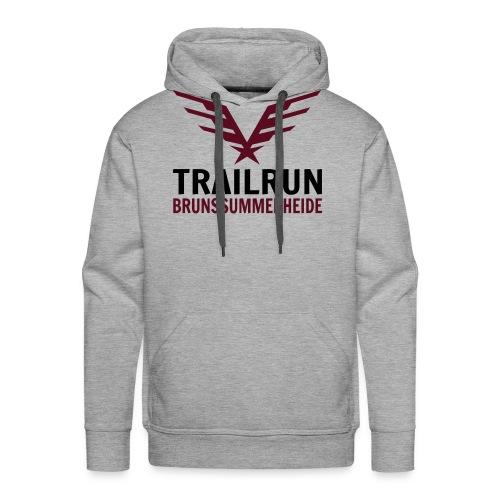 Vectorlogo Trailrun Bruns - Mannen Premium hoodie