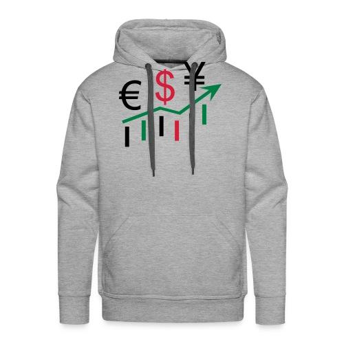 forex dollar euro - Männer Premium Hoodie