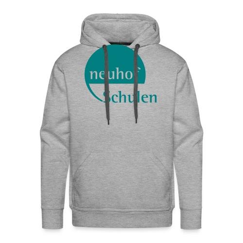 Logo neuhof Schulen - Männer Premium Hoodie