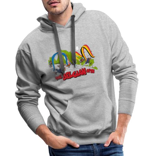 Belgian take off 2019 - Sweat-shirt à capuche Premium pour hommes