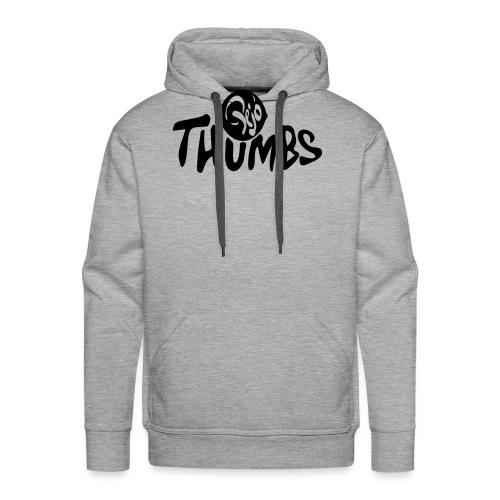 pejo thumbs logo - Men's Premium Hoodie