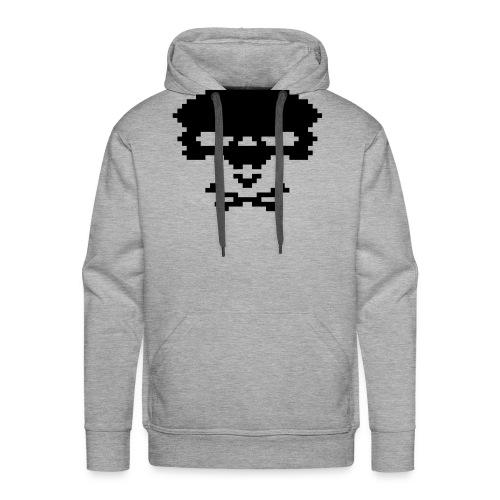 pixelskull - Männer Premium Hoodie