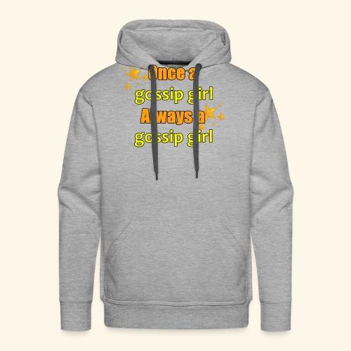 Gossip Girl Gossip Girl Shirts - Men's Premium Hoodie