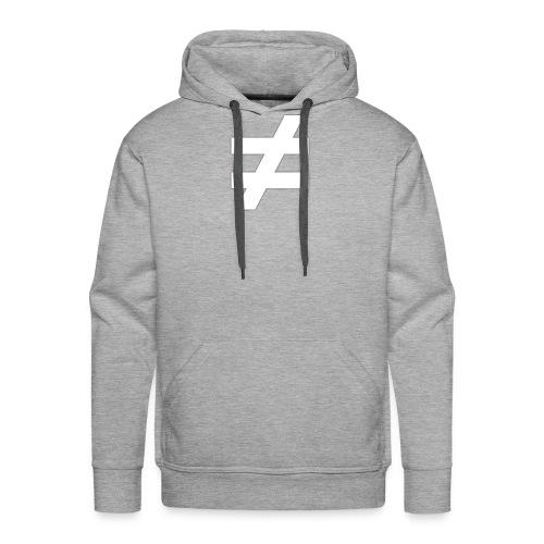≠ MOTIV - schwarzes Sweatshirt - Männer Premium Hoodie