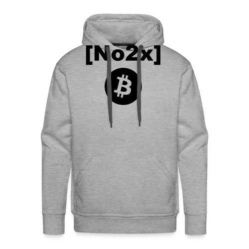 Bitcoin [No2x] - Sweat-shirt à capuche Premium pour hommes