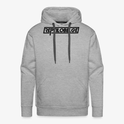 M1 Reptilobelge - Sweat-shirt à capuche Premium pour hommes