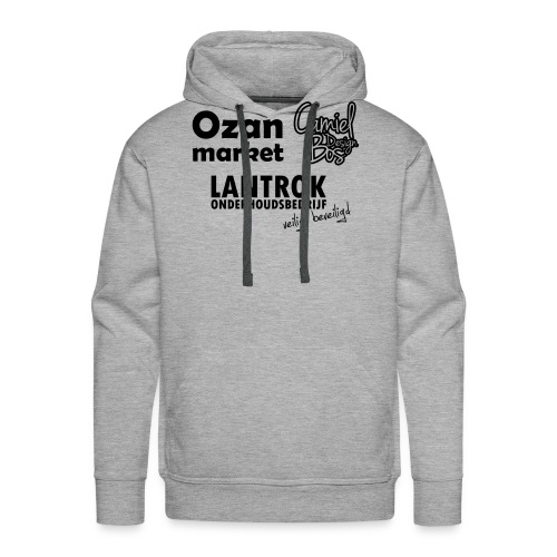Ozan+Lantrok+CBD - Mannen Premium hoodie