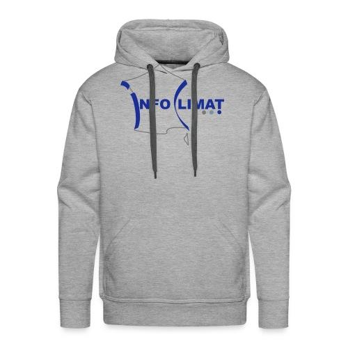 logo simplifié - Sweat-shirt à capuche Premium pour hommes