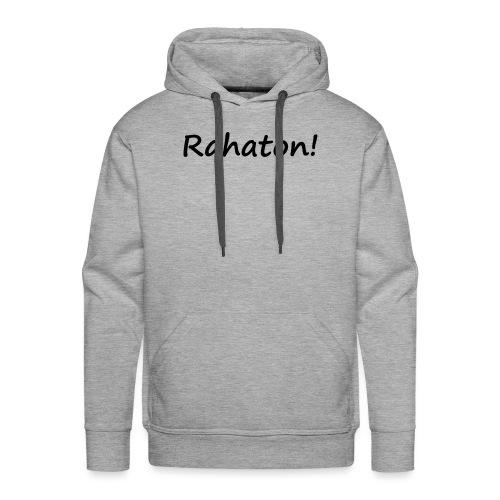 Rahaton! - Miesten premium-huppari