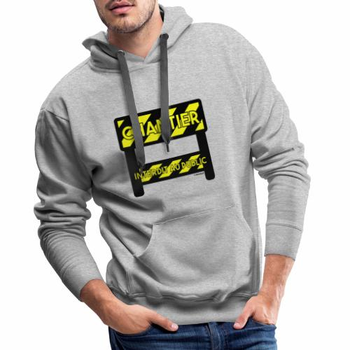 Werk in uitvoering - Mannen Premium hoodie