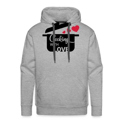 Cooking with love - Männer Premium Hoodie