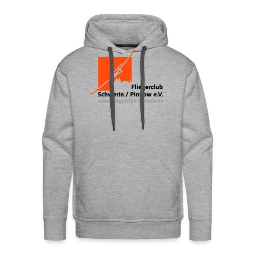 Logo Fliegerclub Schwerin Pinnow (web) - Männer Premium Hoodie