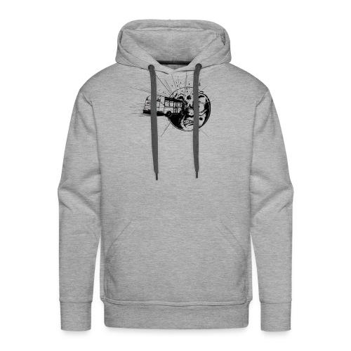 logoartefaktbus - Sweat-shirt à capuche Premium pour hommes