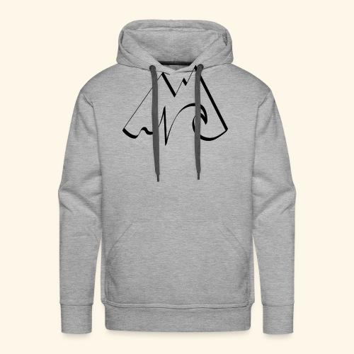 Logo SURFTRIP noir - Sweat-shirt à capuche Premium pour hommes