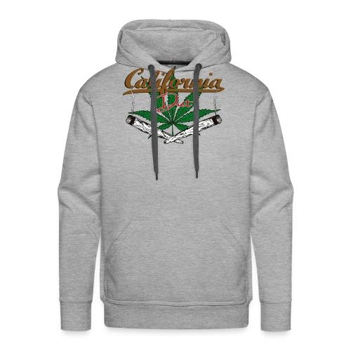 California Diet Cannabis Kiffen Hanf Geschenk - Männer Premium Hoodie