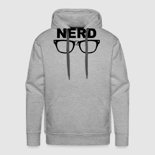 Nerd - Männer Premium Hoodie