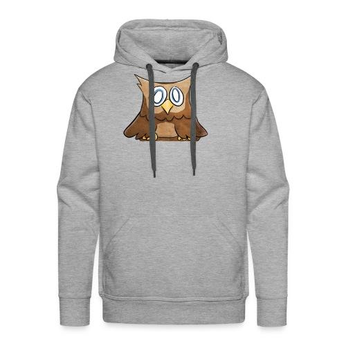 Owl - Mannen Premium hoodie