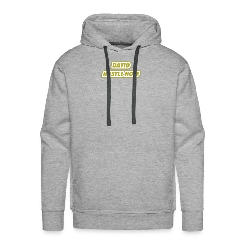 David Hustlehoff Solo - Men's Premium Hoodie