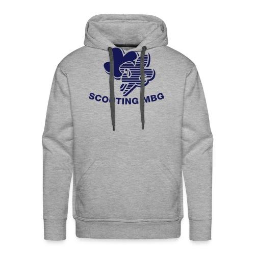 ruglogo zonder tekst - Mannen Premium hoodie