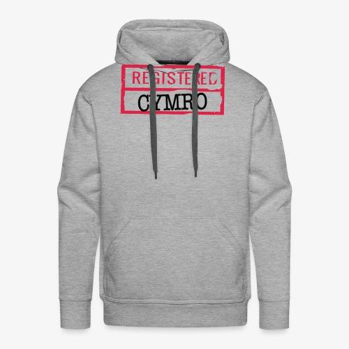 REGISTERED CYMRO - Men's Premium Hoodie