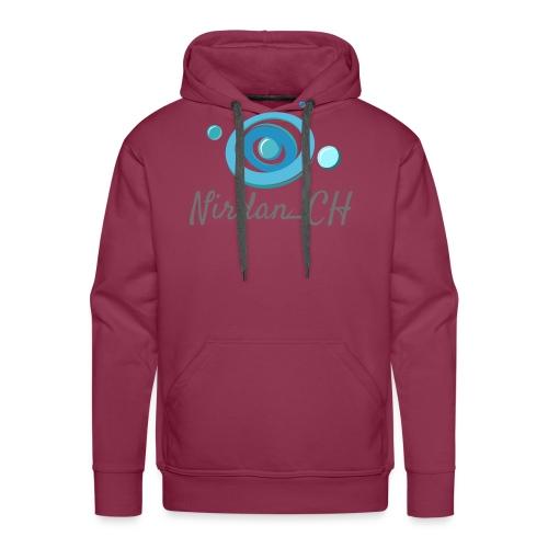 400dpiLogoCropped - Sweat-shirt à capuche Premium pour hommes