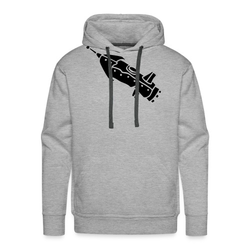 space shuttle space ship Rakete rocket satellite - Männer Premium Hoodie